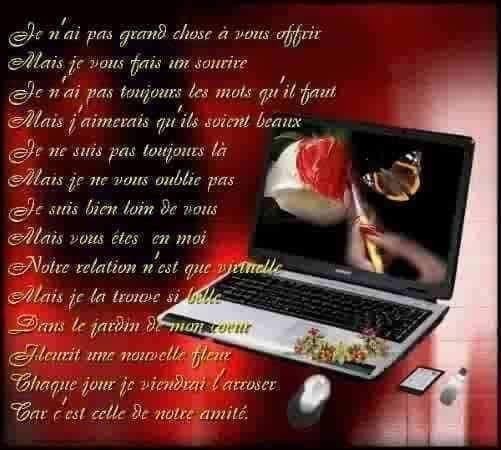 Poeme La Fleur De L Amitie Jepoemes