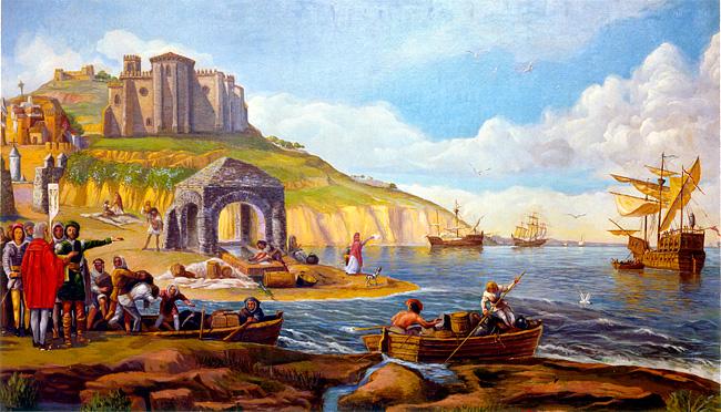 départ-du-port-de-Palos-en-1492-Evaristo-Dominguez.jpg