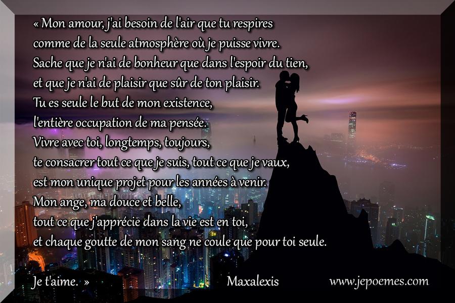 Citation Phrase Damour Pour Ma Femme Jepoèmes Forum