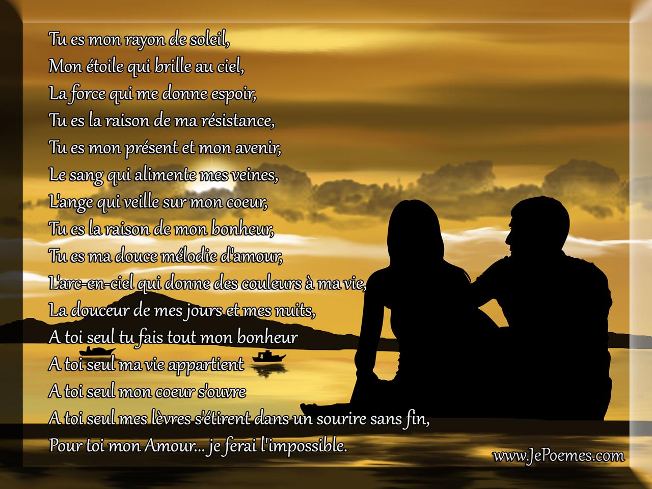 Poème Damour Poème Damour Pour Mon Amour Jepoèmes