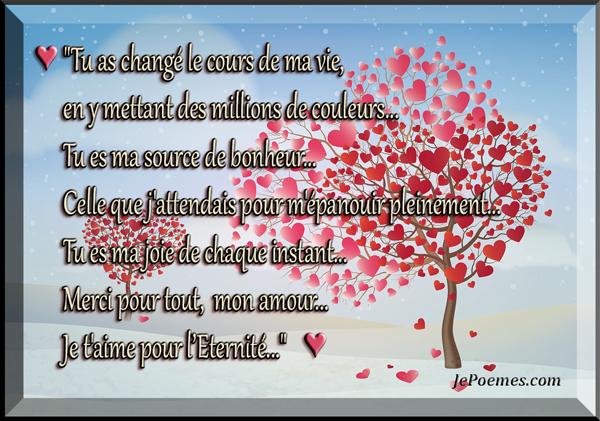 Citation Citation Damour Je Taime Pour Léternité